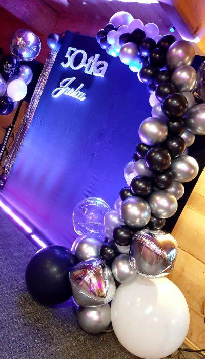 dekoracje balonowe balony z helem kielce 179